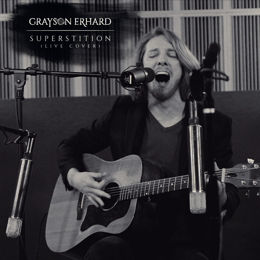 Grayson Erhard - Superstition (Live Cover) Artwork
